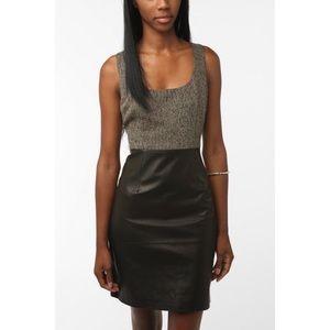 NWT Revolve BB Dakota Serena Leather Dress